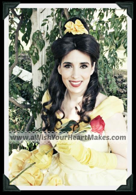 Beauty, Princess Parties, www.aWishYourHeartMakes.com