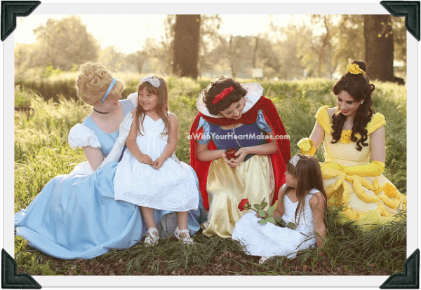 Princess parties, Central Valley and Central Coast, California