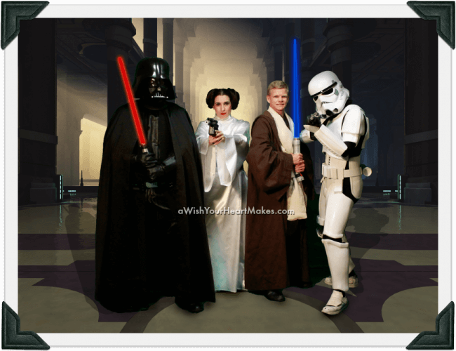 Star Wars parties, California, Central Coast and Central Valley
