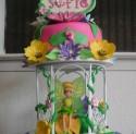 Tinker fairy cake, aWishYourHeartMakes.com
