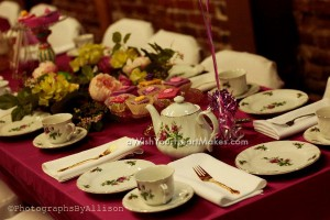 Tea set, princess parties, California, Central Valley and Central Coast