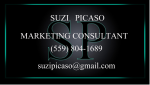 Suzi Picaso, Marketing Consultant, Visalia, CA