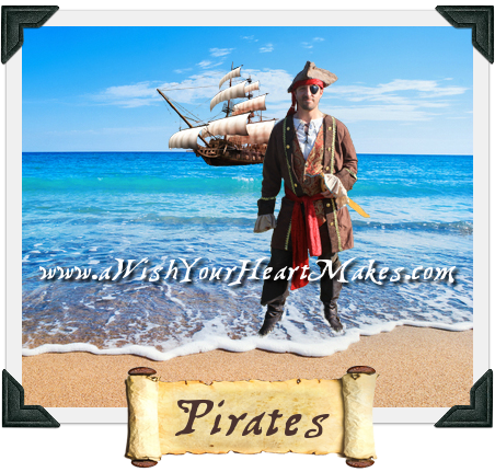 Pirate parties, A Wish Your Heart Makes, Central Coast, Central Valley, California
