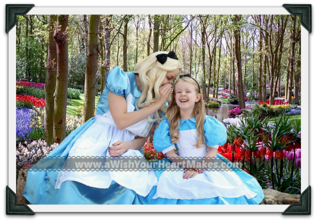 Alice in Wonderland, Princess Parties, www.aWishYourHeartMakes.com