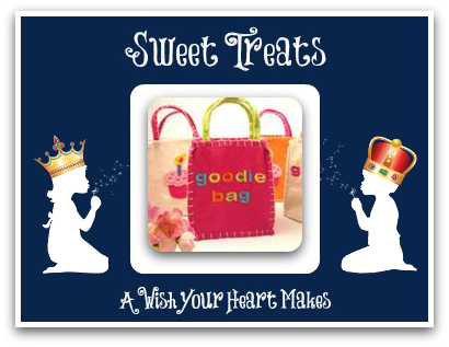 Sweet Treats, Fairytale Parties, www.aWishYourHeartMakes.com
