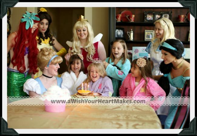 Surprise Visit, Fairytale Parties, A Wish Your Heart Makes