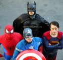 Batman, Spiderman, Captain America and Superman, superhero parties, A Wish Your Heart Makes, Central Valley and Central Coast, California