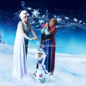 Sisters, Snow Queen parties, California, Central Valley and Central Coast