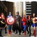 Batman, Batgirl, Wonderwoman, Captain America, Black Widow, and Spiderman, superhero parties, A Wish Your Heart Makes, Central Valley and Central Coast, California