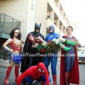Batman, Wonderwoman, Captain America, Superman, and Spiderman, superhero parties, A Wish Your Heart Makes, Central Valley and Central Coast, California