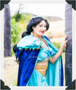 Jasmine, fairytale parties, Central Valley and Central Coast, California