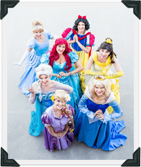 Princess parties, Central Coast and Central Valley, California