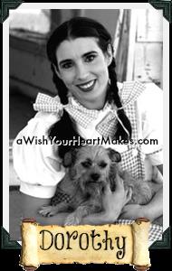 Dorothy in Oz, Fairytale parties, www.aWishYourHeartMakes.com