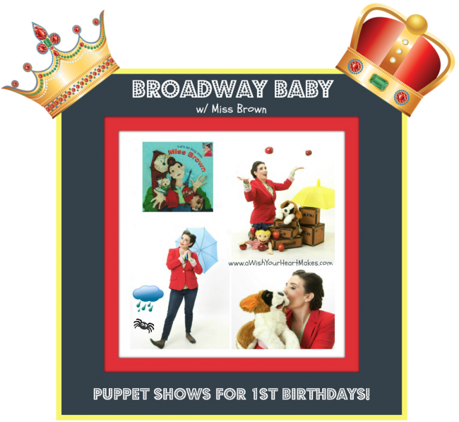 Puppet shows for first birthdays, Central Valley, CA