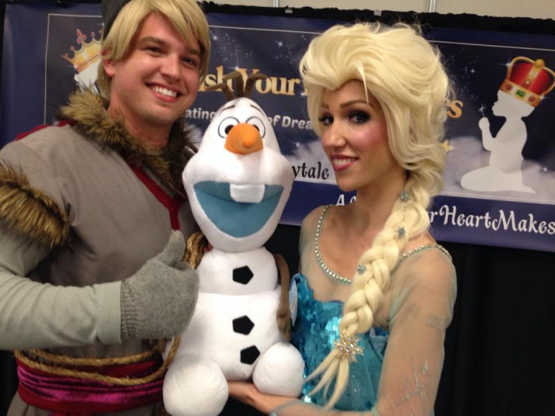 Frozen in the Valley, A Wish Your Heart Makes princess parties, Central Valley and Central Coast, CA