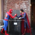 Spiderman and Superman, Superhero parties, Central Coast and Central Valley, California