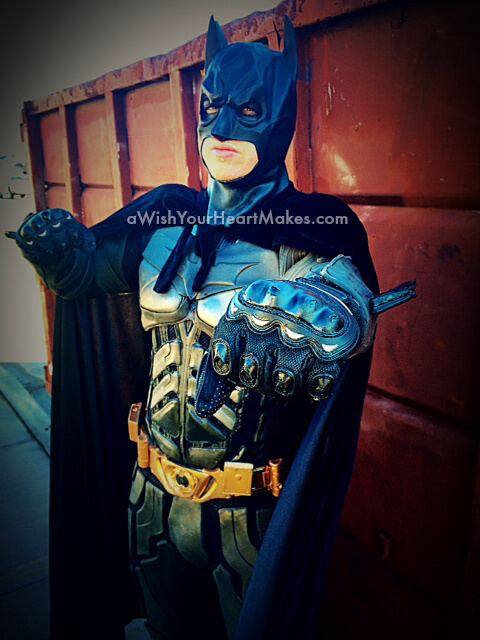 Batman, superhero parties, A Wish Your Heart Makes, Central Valley and Central Coast, California