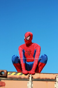 Spiderman parties, Central Coast and Central Valley, California