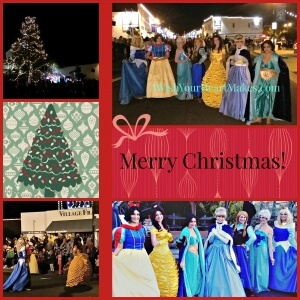 Princesses participate in Arroyo Grande Christmas Parade