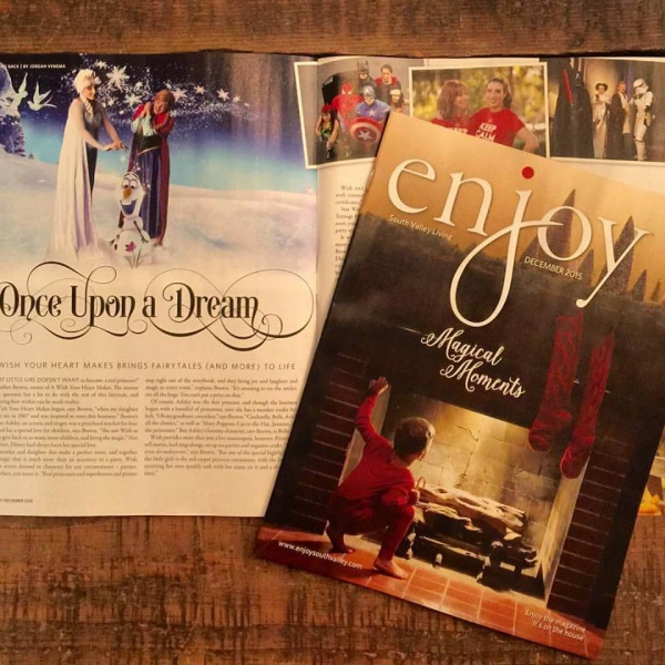 Enjoy Magazine Fairytales and Parties