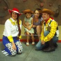 Woody and Jessie, Toy Story parties, California, Central Valley and Central Coast.