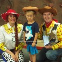 Woody and Jessie, Toy Story parties, Central Valley and Central Coast, California