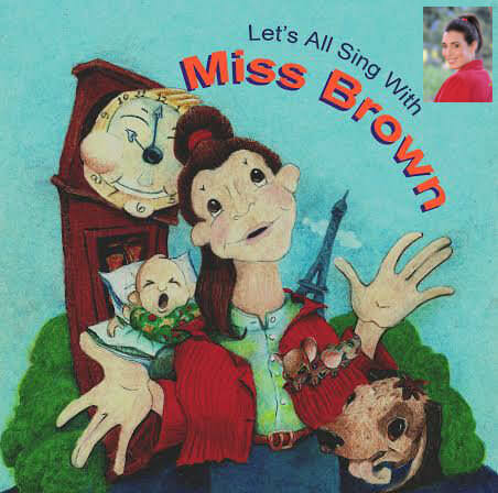 Let's All Sing With Miss Brown cd, Ashley Brown