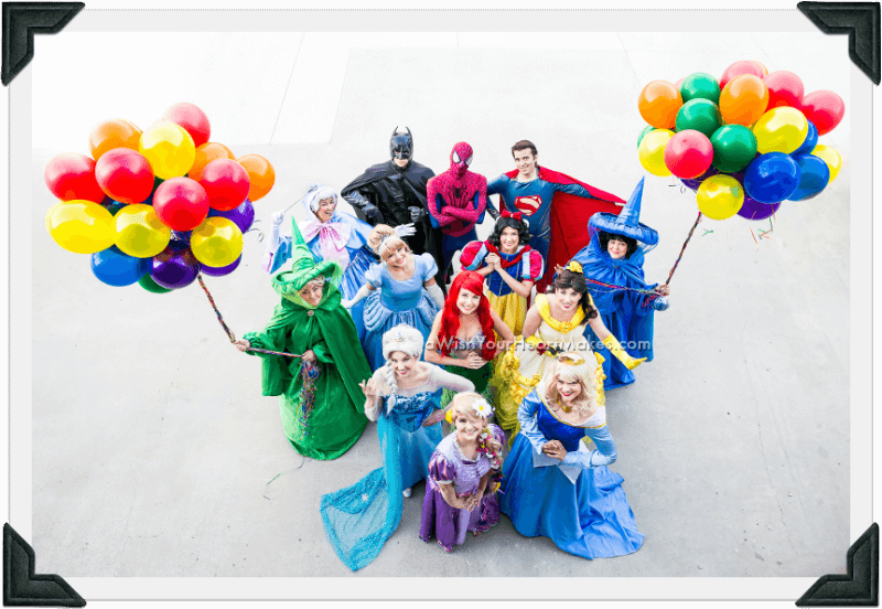Princess and superhero parties, Central Coast and Central Valley, California