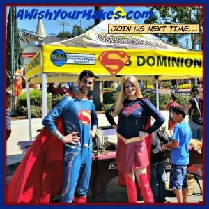 "Attendees at the Santa Maria Autumn Arts Festival had an ""extra super"", special time when they were visited by Superman and Supergirl on October 1st!"