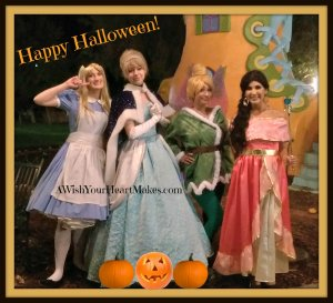 It was a magical evening on October, 29th as Princess Cinderella, Princess Elena, Tinkerbell and Alice attended Tales and Treats at Storyland in Fresno.