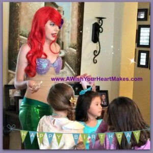 Princess Ariel celebrated Emmi's 5th birthday in Fresno on April 8th and what an enjoyable time she had!