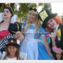 Alice in Wonderland parties, Central Coast & Central Valley, California