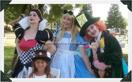 Alice in Wonderland parties, Central Coast