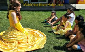 Princess Belle joined Zoe for her birthday on April 29th in Tulare and they enjoyed story time and face painting along with Zoe's special red carpet coronation