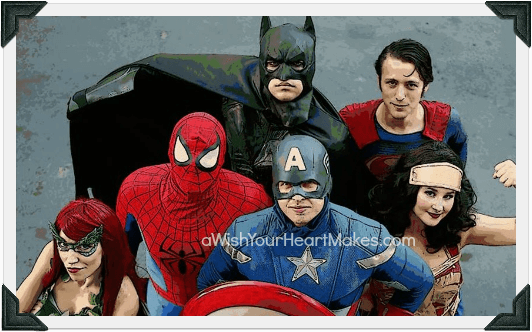 Superhero parties, Central Valley & Central Coast, California