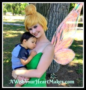 Tinkerbell, Peter Pan, and Princess Tiger Lily were spotted on April 29th in Visalia for Noah's first birthday!