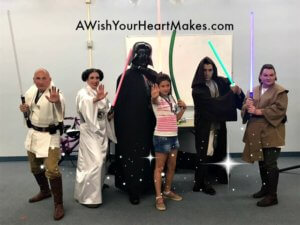 May the 4th was celebrated at the Porterville Public Library with special appearances by Princess Leia and Jedi Master Brandon.