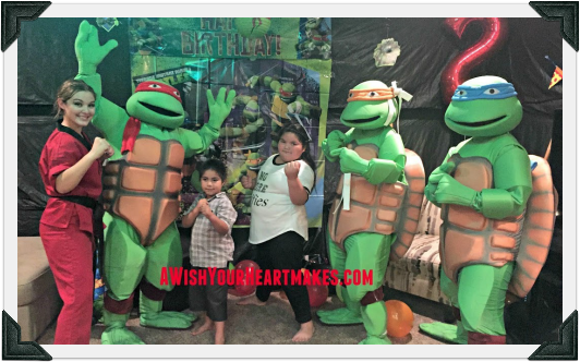 Ninja Turtle parties, Central Coast