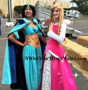 Santa Barbara County Fair had plenty of visitors during it's multiple day run. Princess Aurora caught a magic carpet ride with Princess Jasmine and they both enjoyed the festivities at the fair on July 15th!