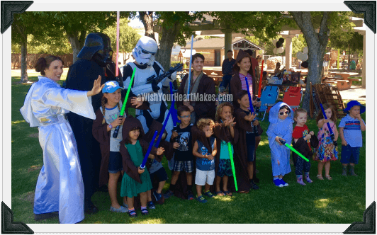 Star Wars parties, Central Valley