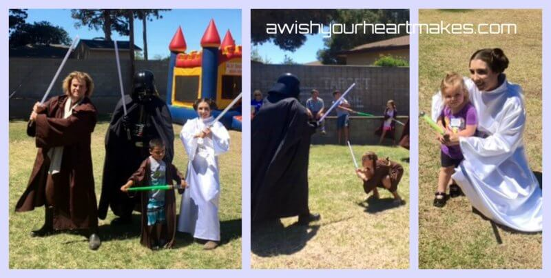 Star Wars Parties, Jedi Training, Central Valley & Central Coast, California