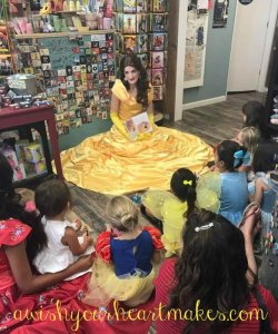 Elena of Avalor parties, Belle parties, Central Valley & Central Coast, California