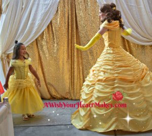 """Princesses lined up to attend a real """"ball"""" at Chuckchansi Park in Fresno on August 18th where they could meet Moana, Princess Elena, Elsa and Anna, Belle, Snow White, Princess Sophia, Cinderella, Rapunzel, Flynn Ryder, and even Captain America!"""