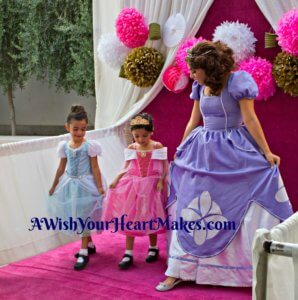 "Princesses lined up to attend a real ""ball"" at Chuckchansi Park in Fresno on August 18th where they could meet Moana, Princess Elena, Elsa and Anna, Belle, Snow White, Princess Sophia, Cinderella, Rapunzel, Flynn Ryder, and even Captain America!"