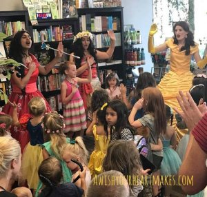 Moana parties, Elena of Avalor parties, Belle parties, Central Valley & Central Coast, California