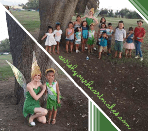 Tinker Bell parties, Central Valley & Central Coast, California