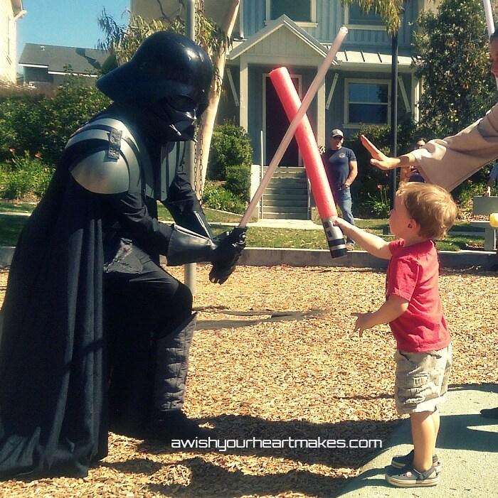 Star Wars parties, Jedi Training, Central Coast & Valley, California