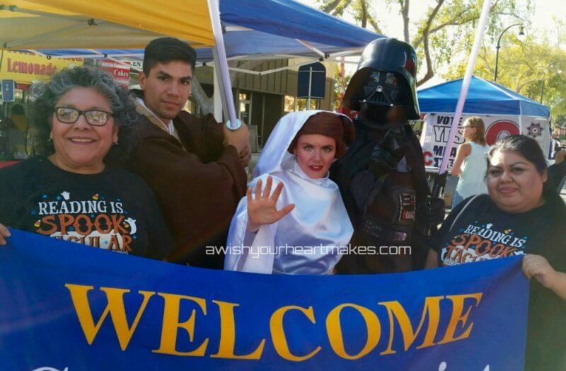 Star Wars parties, Belle parties, Elena of Avalor parties, Central Coast & Valley, California