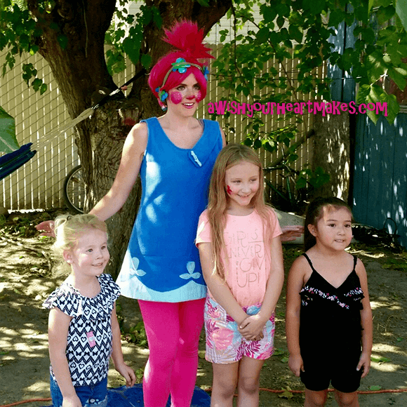 Poppy parties, Trolls parties, Central Coast & Valley, California