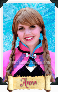 Anna, Frozen Parties, Central Valley & Central Coast, California